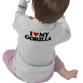 I LOVE MY GORILLA T-SHIRTS