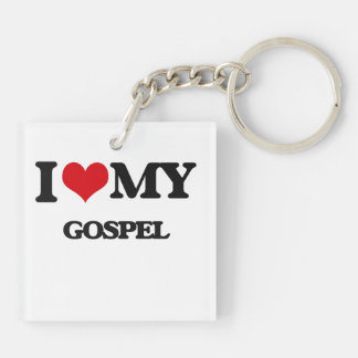 I Love My GOSPEL Acrylic Key Chain