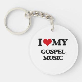 I Love My GOSPEL MUSIC Key Chains