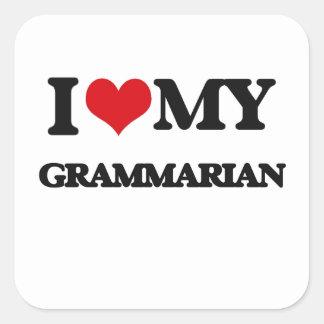 I love my Grammarian Sticker