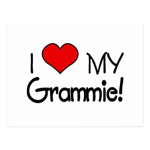 I Love My Grammie! Postcard