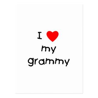 I Love My Grammy Postcard