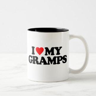 I LOVE MY GRAMPS Two-Tone MUG