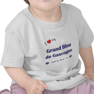 I Love My Grand Bleu de Gascogne (Male Dog) Shirts