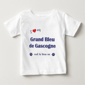 I Love My Grand Bleu de Gascogne (Male Dog) T Shirt