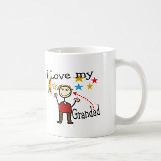 I Love My Grand Dad Mugs