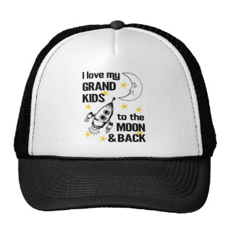 I Love My Grand Kids To The Moon And Back Cap
