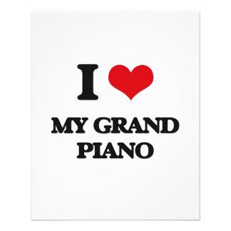 I Love My Grand Piano Flyer