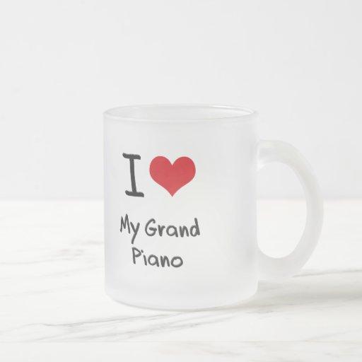 I Love My Grand Piano Coffee Mug