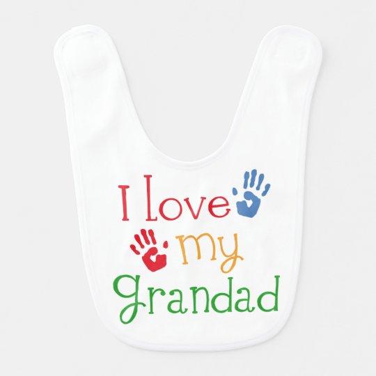 I Love My Grandad Baby Infant Bib