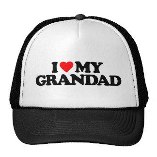 I LOVE MY GRANDAD TRUCKER HAT