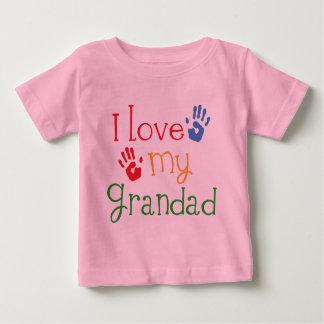 I Love My Grandad (Handprints) Baby T-Shirt