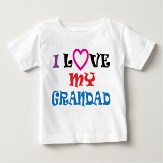 I Love My Grandad T Shirt