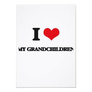 "I Love My Grandchildren 5"" X 7"" Invitation Card"