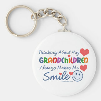 I Love My Grandchildren Key Ring