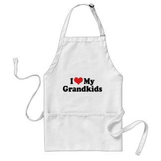 I Love My Grandkids Aprons