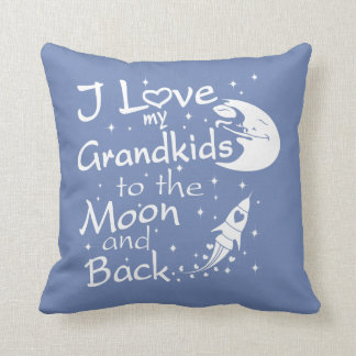 I Love My GrandKids to the Moon and Back Cushion