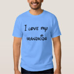 I Love my Grandkids to the Moon and Back Tee Shirts