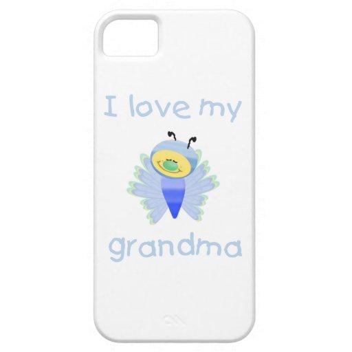 I love my grandma (boy flutterby) iPhone 5 case