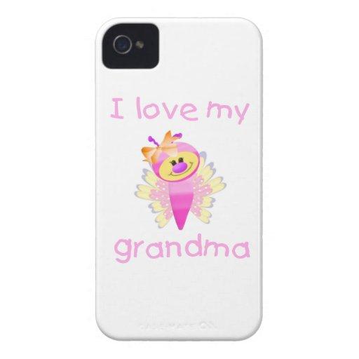 I love my grandma (girl flutterby) blackberry bold cases
