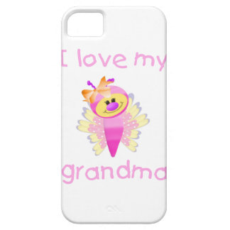 I love my grandma girl flutterby iPhone 5 cover