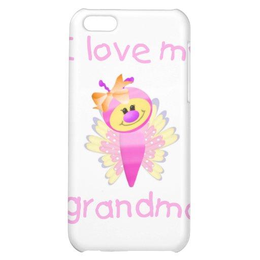 I love my grandma (girl flutterby) iPhone 5C cover