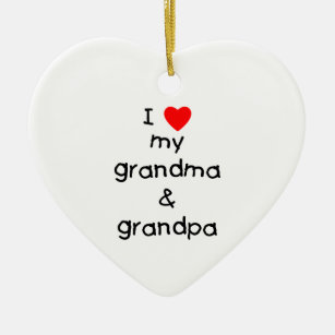 Grandma And Grandpa Christmas Tree Decorations Amp Ornaments Zazzle Co Uk