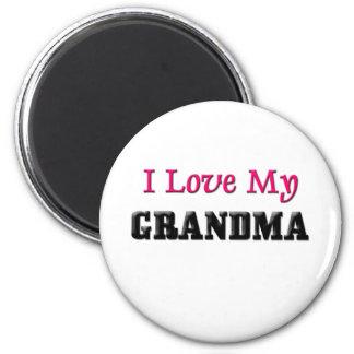 I Love My Grandma Magnet