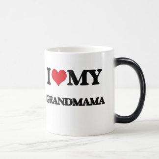 I love my Grandmama Morphing Mug