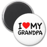 I love my Grandpa Refrigerator Magnet