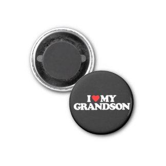 I LOVE MY GRANDSON REFRIGERATOR MAGNET