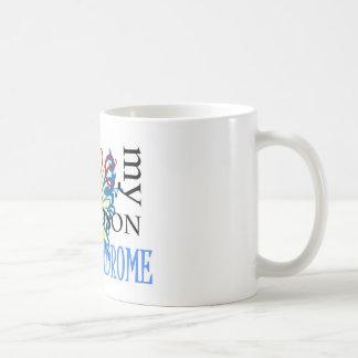 I Love My Grandson with Down Syndrome Coffee Mug