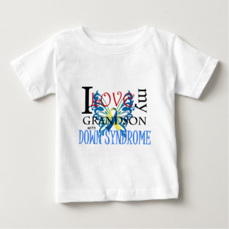I Love My Grandson with Down Syndrome Shirt