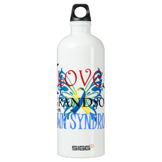 I Love My Grandson with Down Syndrome SIGG Traveller 1.0L Water Bottle