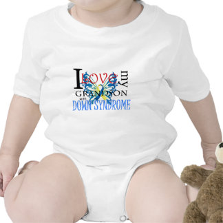 I Love My Grandson with Down Syndrome Bodysuit