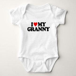 I LOVE MY GRANNY BABY BODYSUIT
