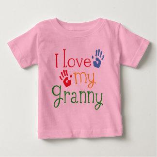 I Love My Granny Handprints Baby T-Shirt