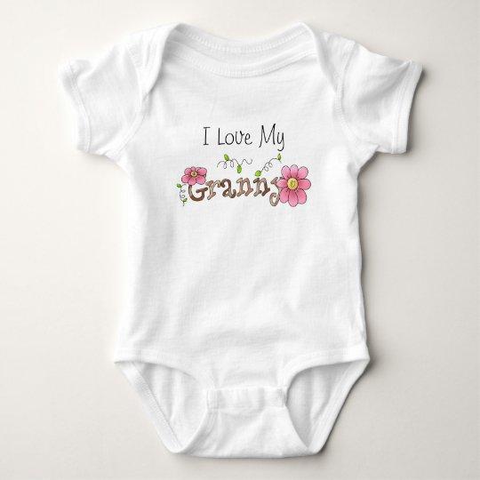 I Love My Granny, Infant Baby Bodysuit