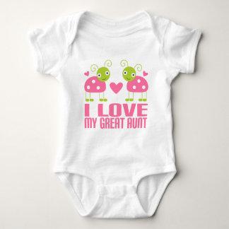 I Love My Great Aunt Ladybug T-shirt