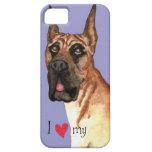 I Love my Great Dane iPhone 5 Case