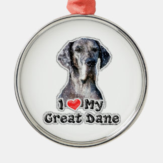 I love my Great Dane Xmas ornament