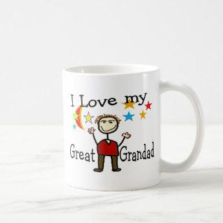 I Love My Great Grandad Coffee Mugs