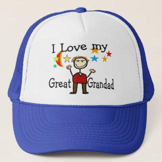 I Love My Great Grandad Trucker Hat