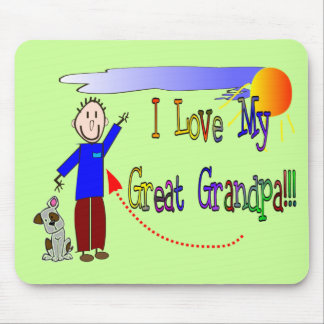 I love my Great Grandpa Mouse Mat