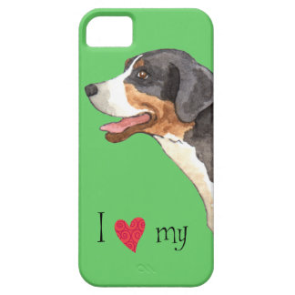 I Love my Greater Swiss Mountain Dog iPhone 5 Case