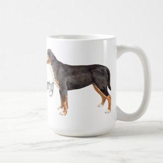 I Love my Greater Swiss Mountain Dog Coffee Mug