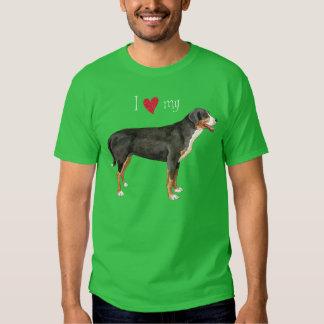 I Love my Greater Swiss Mountain Dog Shirts