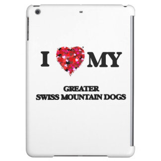 I love my Greater Swiss Mountain Dogs