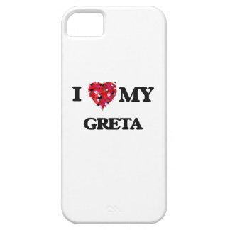 I love my Greta iPhone 5 Cases