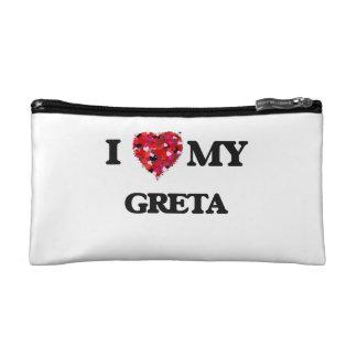 I love my Greta Makeup Bags